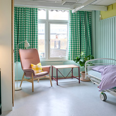Interiord design of Palliative care for kids and their families - Nordre Åsen f