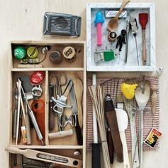 Styling kjøkken for Designinteriør