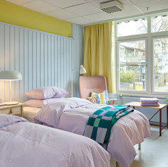 Interiord design of Palliative care for kids and their families - Nordre Åsen