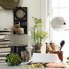 Styling keramikk for Designinteriør