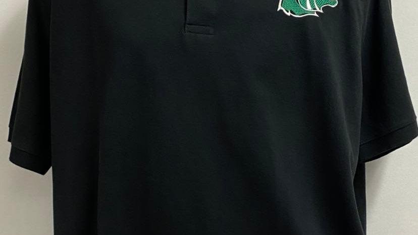 Embroidered bobcat shirt