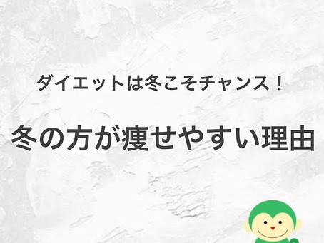 知らないと損!【冬の方が痩せやすい理由】/福井ダイエット情報《私の#かかりつけジム Lea.lu》