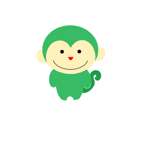 緑の猿のキャラクター