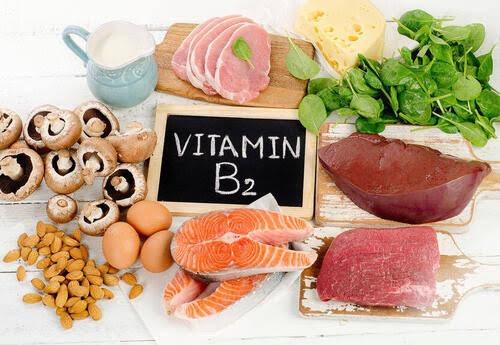 ビタミンB2の食材