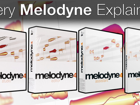 Which Melodyne Version Do I Need? (2020)