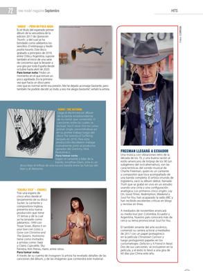 New Model Magazine, Ecuador.