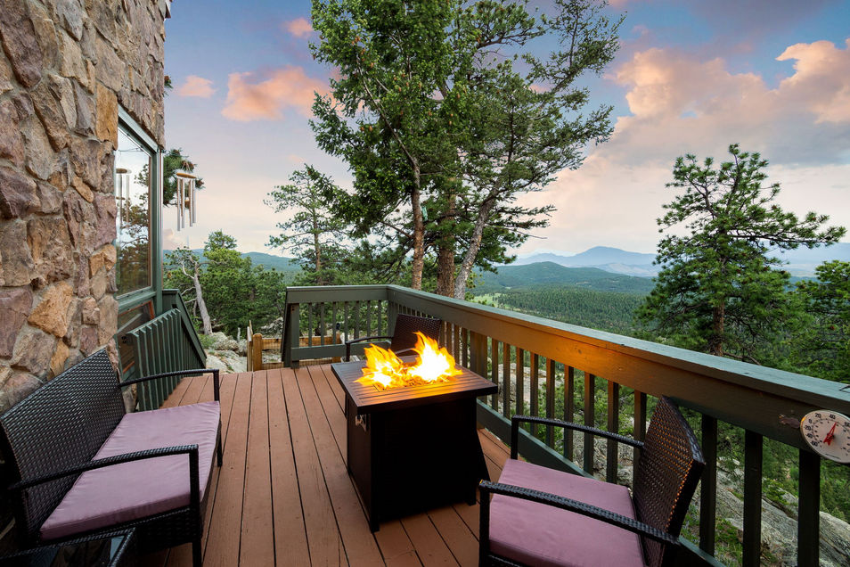 Highlight outdoor living opportunities with captivating exterior photos