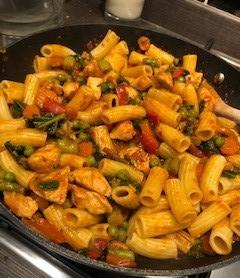 Chicken Pesto Pasta  - #notafad