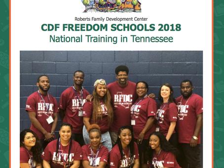 CDF FREEDOM SCHOOLS 2018