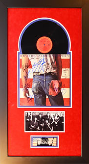 Bruce and E St Band Born in the usa Albu