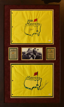 Arnold Palmer and Jack Nicklaus Masters