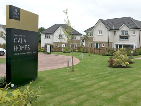 53 Water Connections For CALA Homes in Strathaven