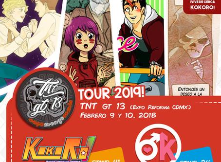 El primer evento del TOUR 2019 ¡Revelado!