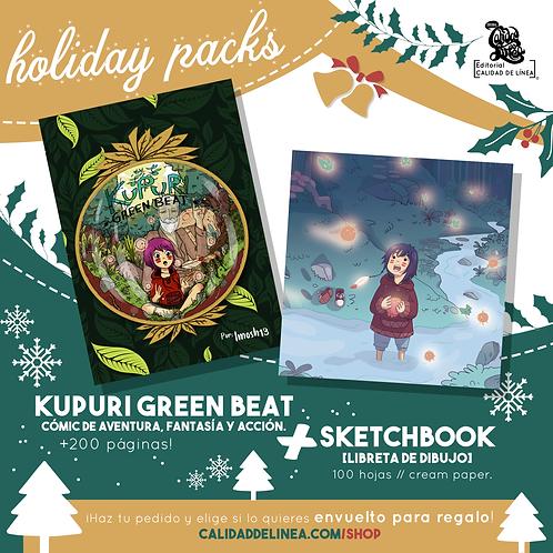 Kupuri [Cómic + Sketchbook]