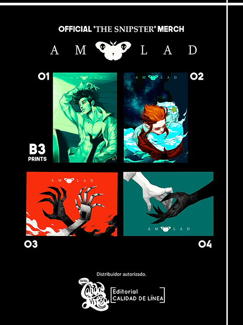 AMOLAD official Prints