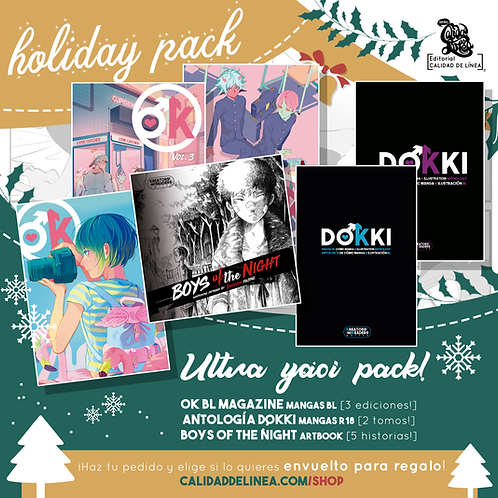 Holiday YAOI Pack! [6 libros!]