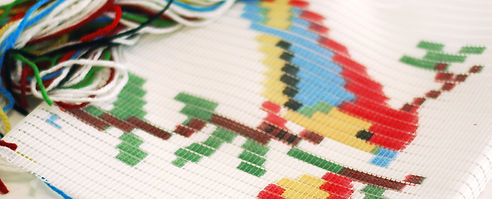 A picture of custom embroidery.
