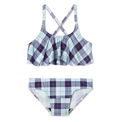 Teen Period Swimwear Ruffle Set | Plaid Paradise