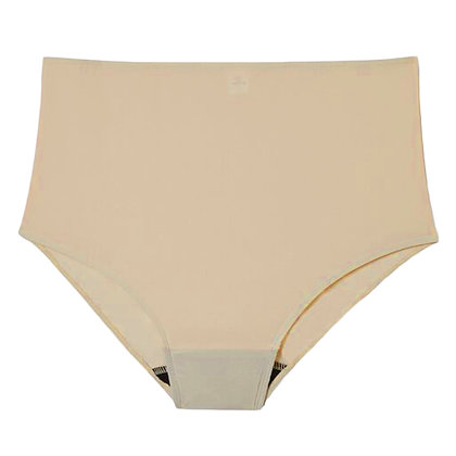 Hi-Cut Period Underwear - Latte