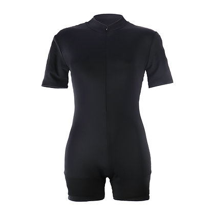 Teen Period Swimwear Skinsuit | Black Sea