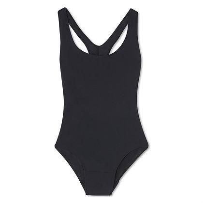 Teen Period Swimwear Racerback | Black Sea