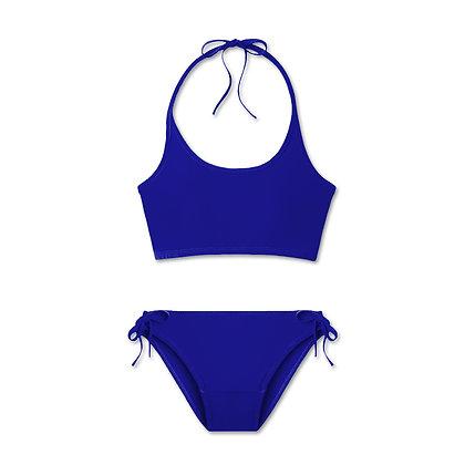 Period Swimwear Tank Set (Blue Waters)