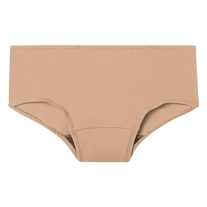 Period Underwear Hipster | Latte | Plus Size Collection