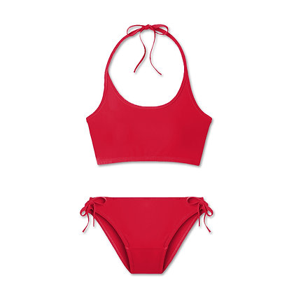 Period Teen Swimwear Tank Set (Classic Ruby)
