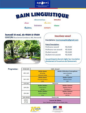 Bain linguistique 2018