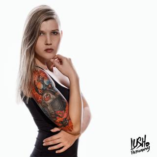 Lush Photography Augsburg - tattooed girl