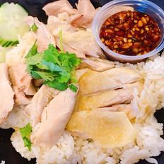 Steamed Chicken on Garlic Rice (Only on Wednesday)