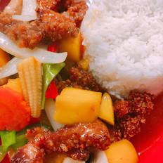 Mango Crispy Chicken