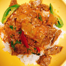 Thai Style Beef Panang Curry