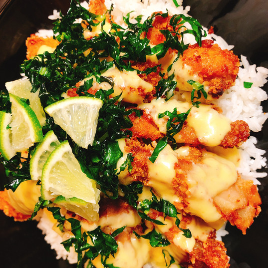 Crispy Chicken With Creamy Lime Sauce.JP