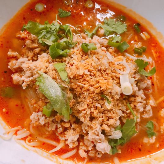 N16. Tom Yum Noodle Soup