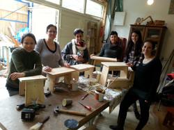 יום צוות - בניית שרפרפים