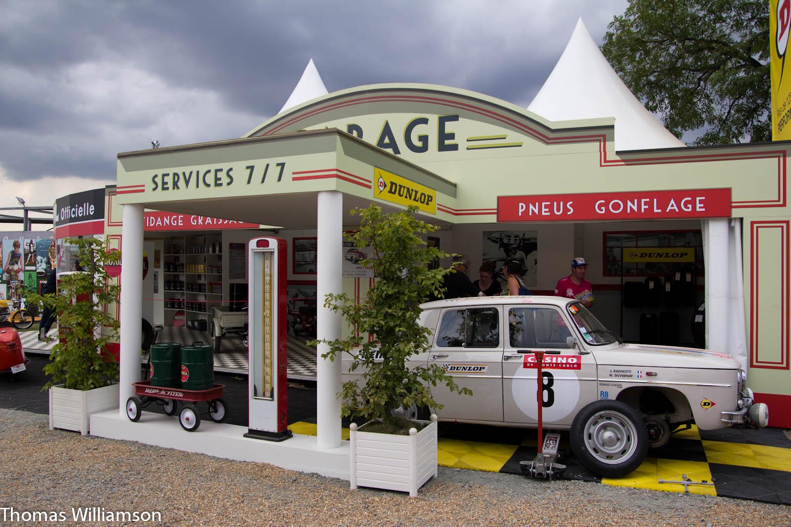 Garage ancien