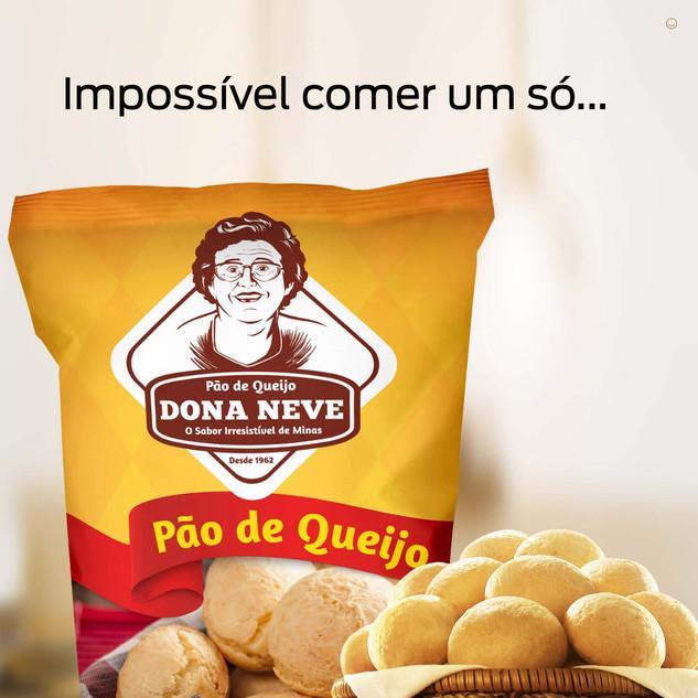 Embalagem de Produtos - Dona Neve
