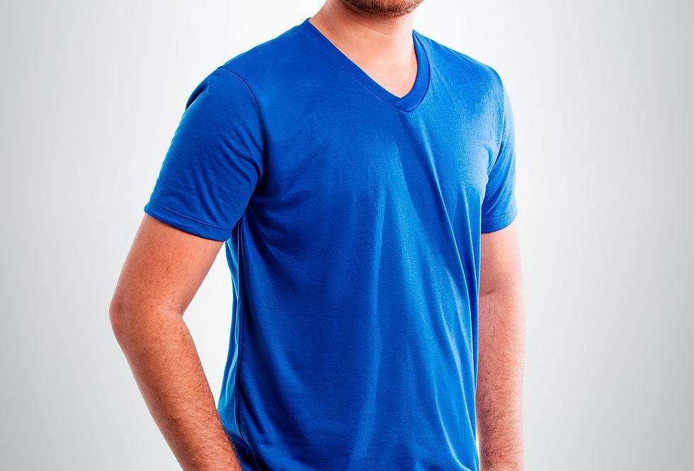 Camiseta de malha manga curta