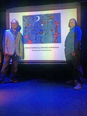 Neil & Bob Devereux performing at St Ive