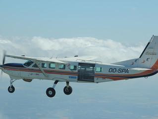 Bistatic SAR BelSAR flies over Belgium