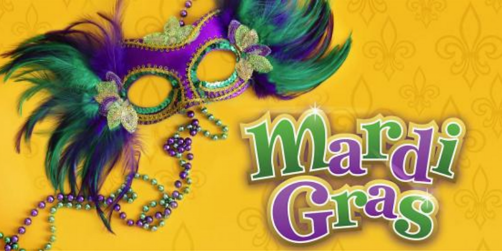 Mardi Gras Party - Sunset Dining Room & Lounge
