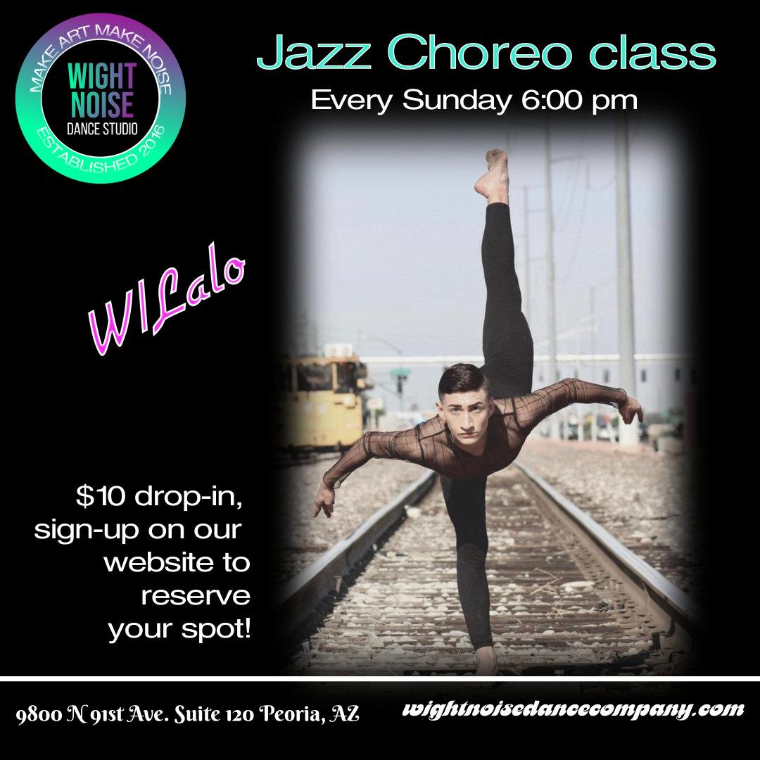 Jazz Choreo Class W/Lalo
