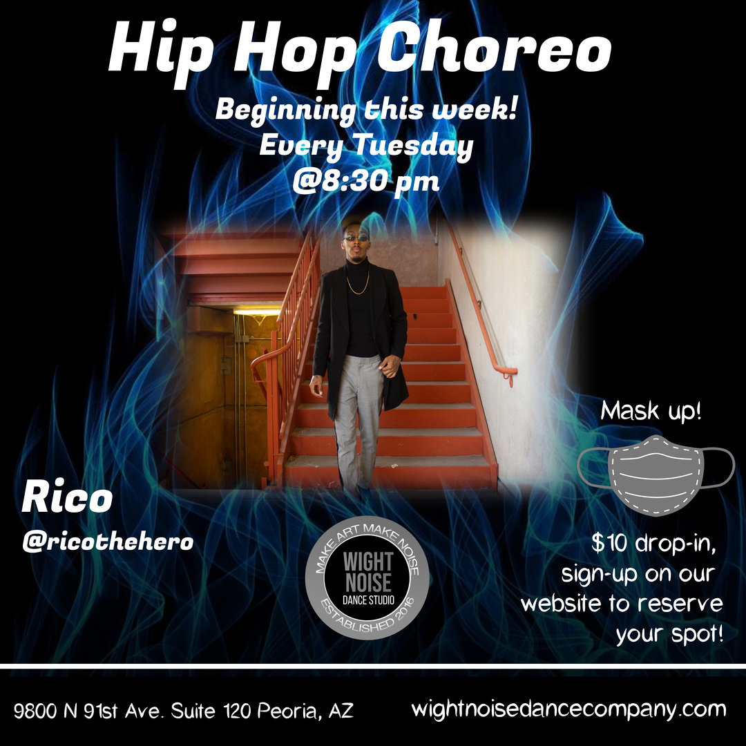 Hip Hop Choreo w/Rico
