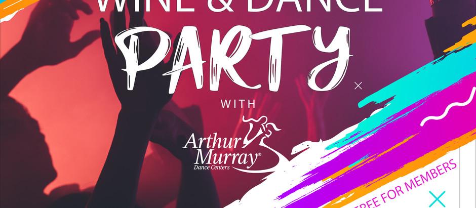 Wine & Dance Party Online