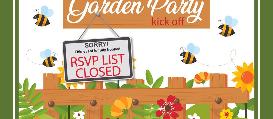 Kick Off Garden Party