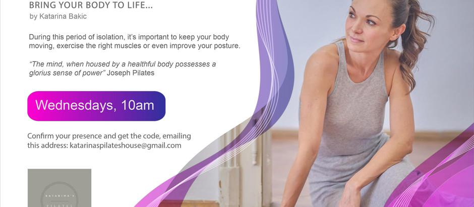 Pilates classes online