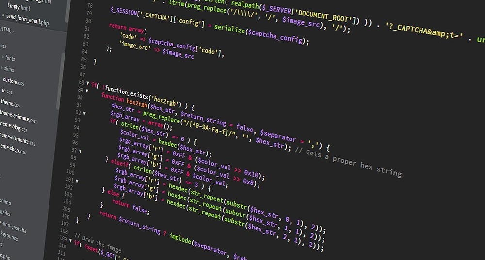Coding in multiple colors