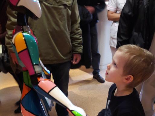 Hope est arrivée dans le service d'hémato-immuno-oncologie pédiatrique.