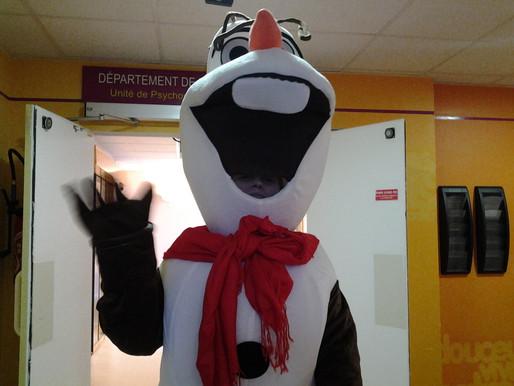 Olaf s'invite à l'hôpital